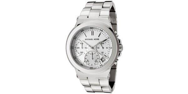 Dámske hodinky z leštenej nerezovej ocele Michael Kors