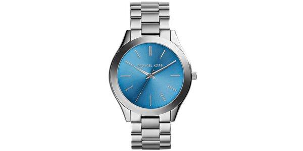 Dámske hodinky s modrým ciferníkom Michael Kors