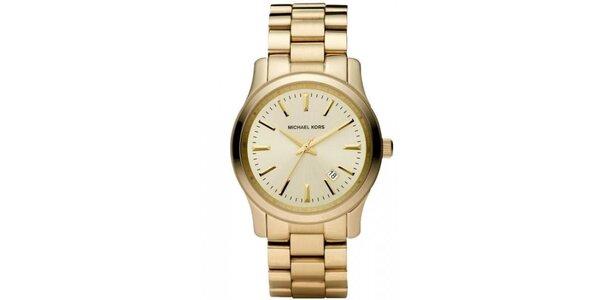 Dámske minimalistické hodinky s dátumovkou Michael Kors