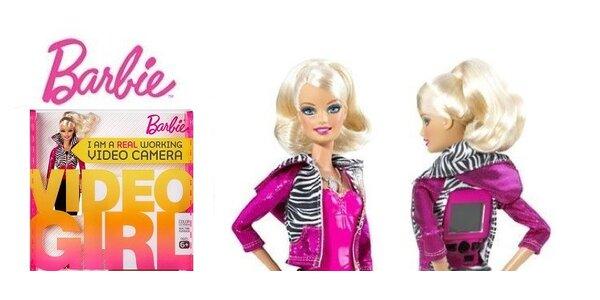 Skvelý darček pre malú slečnu - Barbie s videokamerou