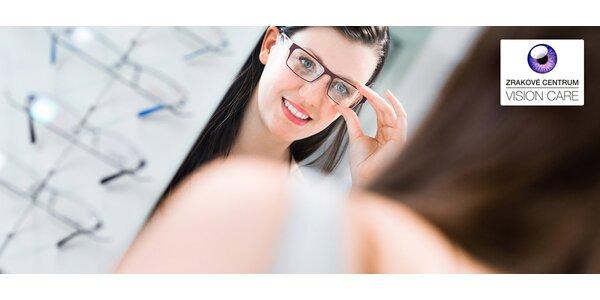 Nákup v optike alebo vyšetrenie zraku