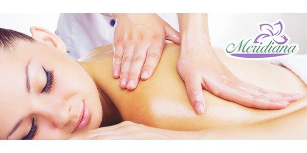 Klasická olejová masáž alebo SHIATSU masáž