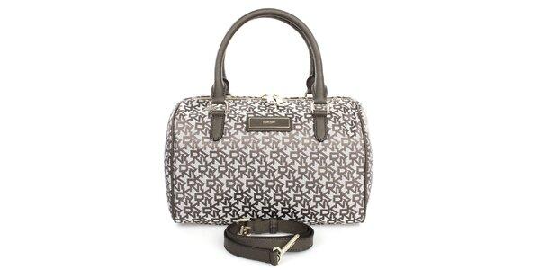 Dámska kabelka s nápismi DKNY