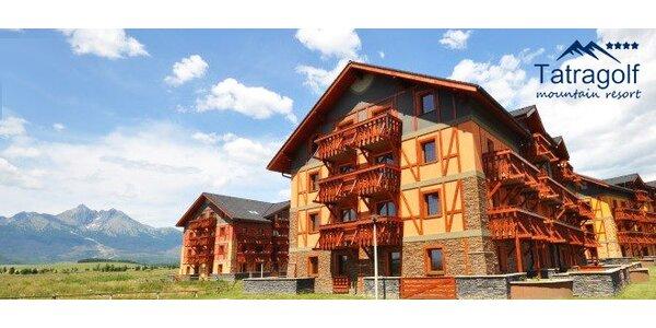 Pobyt v 4* apartmánoch vo Vysokých Tatrách