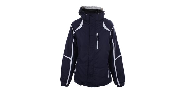 Dámska modro-biela lyžiarska bunda Joluvi