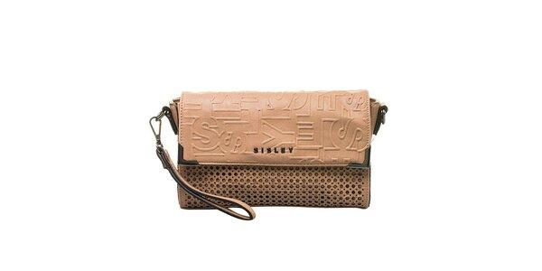 Dámska vzorovaná kabelka Sisley