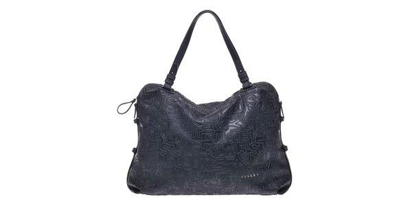 Dámska kabelka s písmenkami Sisley
