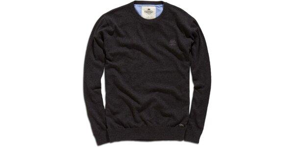 Pánsky antracitový sveter Timeout