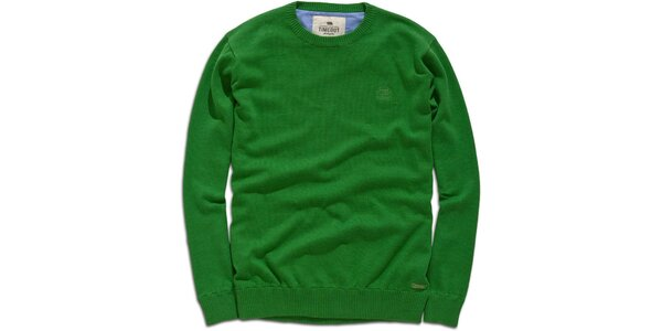 Pánsky zelený sveter Timeout