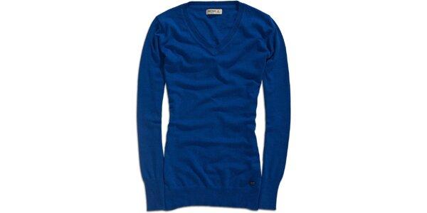 Dámsky dlhší modrý sveter Timeout