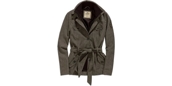 Dámsky vzorovaný kabátik Timeout