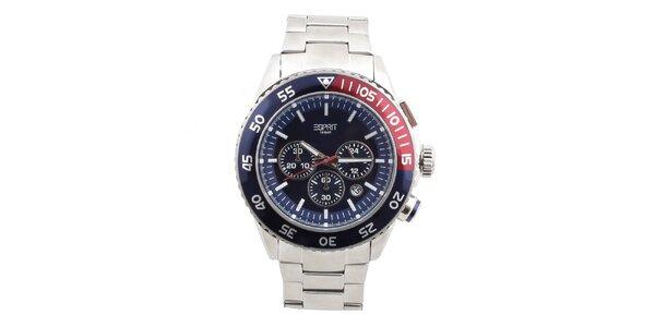 Pánske oceľové hodinky s okrúhlym ciferníkom Esprit
