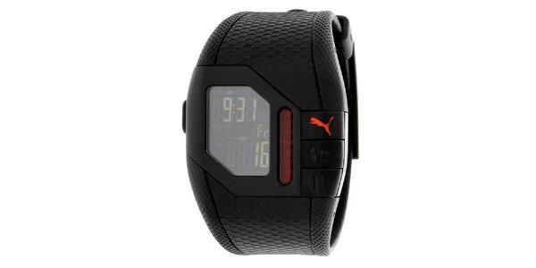 Unisexové digitálne hodinky s monitorom srdečnej činnosti Puma