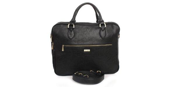 Čierna taška na laptop Bobby Black