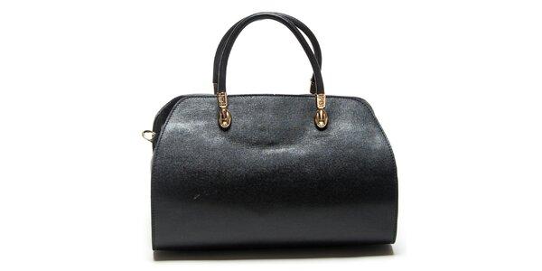 Dámska čierna kufríková kabelka Mangotti