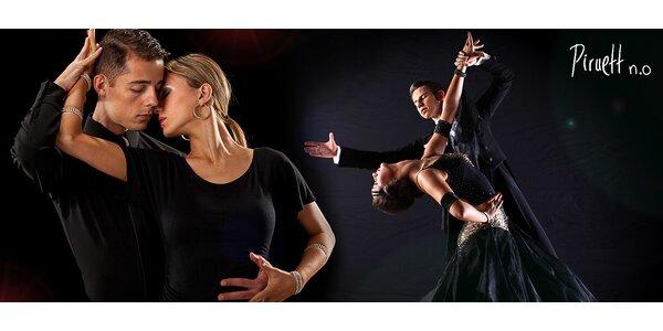 Kurz spoločenských a latinskoamerických tancov