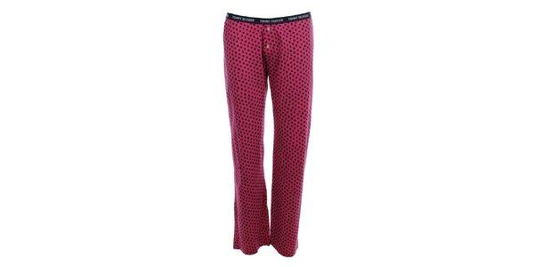 Dámske pyžamové nohavice s hviezdičkami Tommy Hilfiger