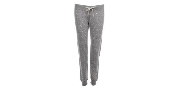 Dámske sivé teplákové nohavice Tommy Hilfiger