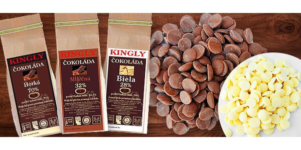 Luxusné belgické čokolády vysokej kvality