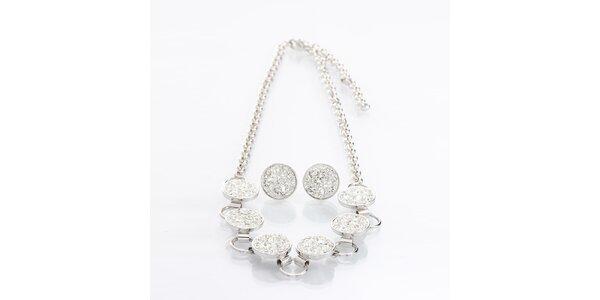 Dámsky set náušnic a náhrdelníku Laura Bruni