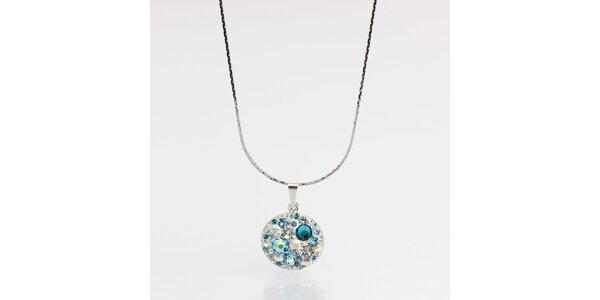 Dámsky náhrdelník s tyrkysovými kryštálmi Laura Bruni