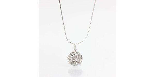Dámsky náhrdelník s kryštálmi Laura Bruni