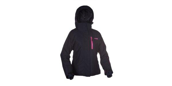 Dámska čierna bunda na lyže Envy