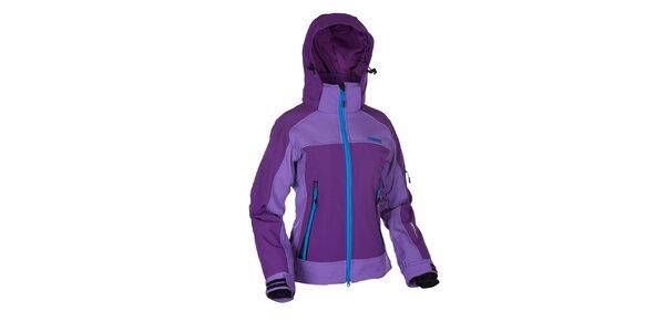 Dámska fialová softshellová bunda Envy