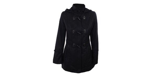 Dámsky čierny krátky kabát Halifax
