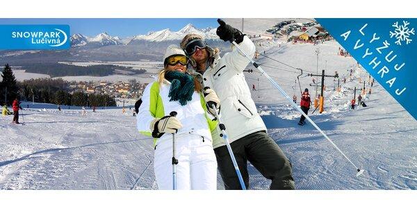 Celodenný skipas do Snowparku Lučivná