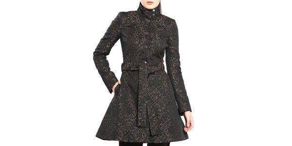 Dámsky dvojfarebný vzorovaný kabátik Vera Ravenna