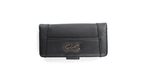 Dámska čierna peňaženka Gorétt