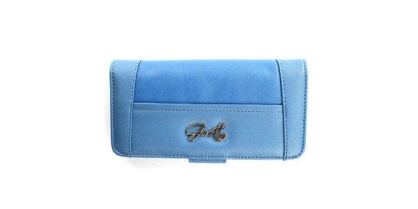 Dámska modrá peňaženka Gorétt