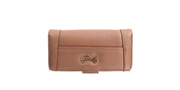 Dámska hnedá peňaženka Gorétt