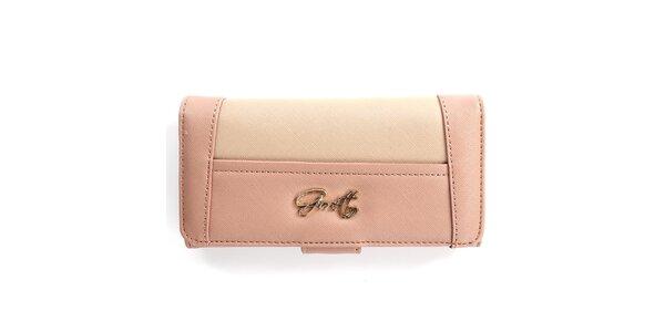 Dámska ružová peňaženka Gorétt