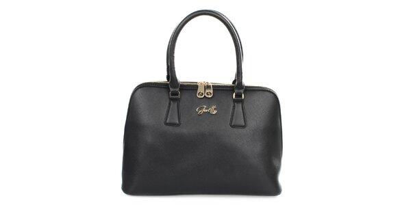 Dámska čierna elegantná kabelka Gorétt