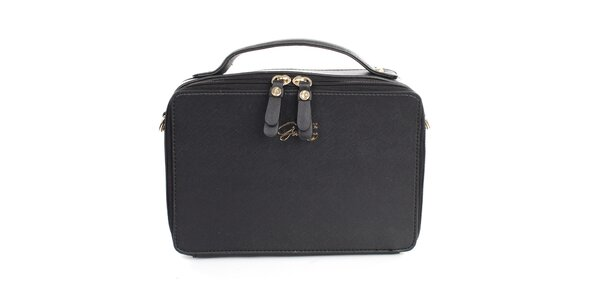Dámska čierna obdĺžniková kabelka Gorétt
