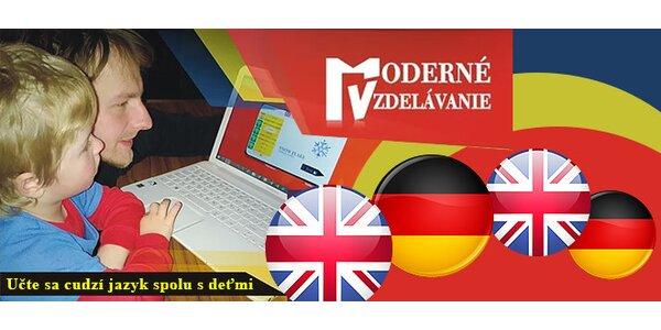 Nemčina Konečne Efektívne Kniha + DVD alebo Angličtina Konečne Efektívne Kniha…
