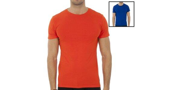 Set dvoch pánskych triček Polo Ralp Lauren - červené a modré