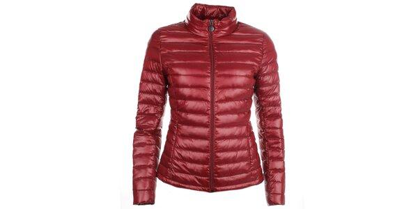 Dámska červená páperová bunda LWJ Collection