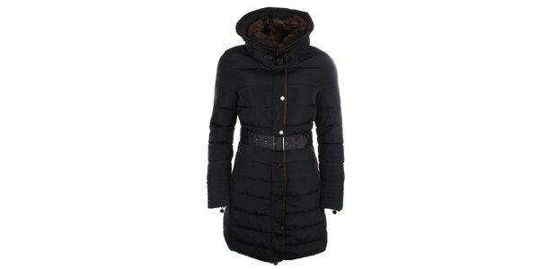 Dámsky kabát s kožúškom Fly Moda