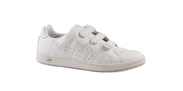 Biele kožené tenisky Nike