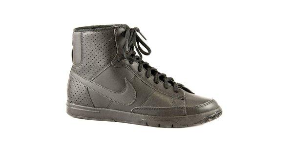 Dámske čierne kotníkové tenisky Nike
