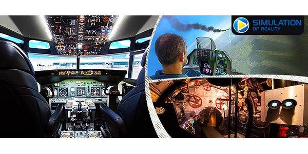 Darujte zážitok: Pilotovanie Boeingu na skúšku