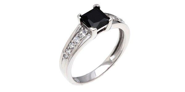 Dámsky prsteň s hranatým zirkónom Afrodite