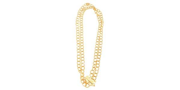 Dámsky pozlátený náhrdelník Just Cavalli