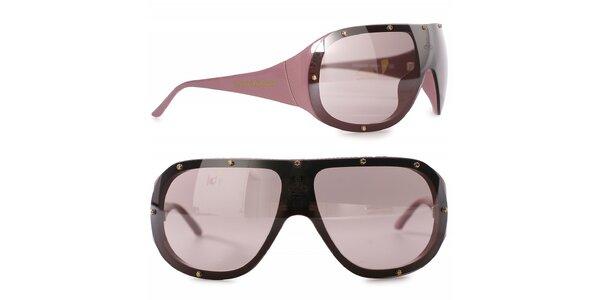 Dámske čierno-hnedé slnečné okuliare Vivienne Westwood