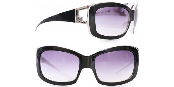 Dámske čierno-biele slnečné okuliare Missoni