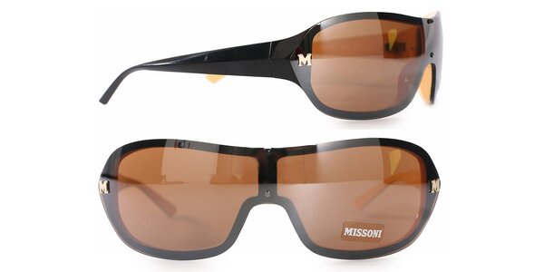 Dámske čierne slnečné okuliare Missoni