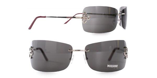 Dámske kovové okuliare Missoni